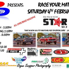 RACE YOUR MATES – 4th February 2017
