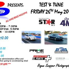 TEST & TUNE – 26th May 2017