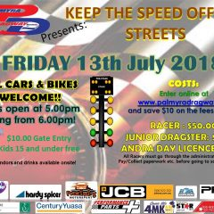 Keep the Speed off the Streets – Friday 21st June 2019
