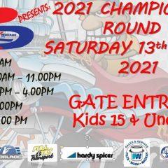 2021 Palmyra Championships Round 1  -13th March 2021