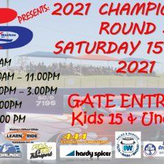 2021 Palmyra Championships Round 3  -15th MAY 2021